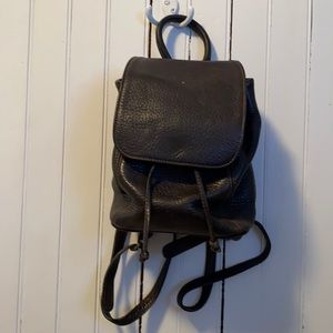 Coach Sonoma Mini Leather Backpack Vintage Brown